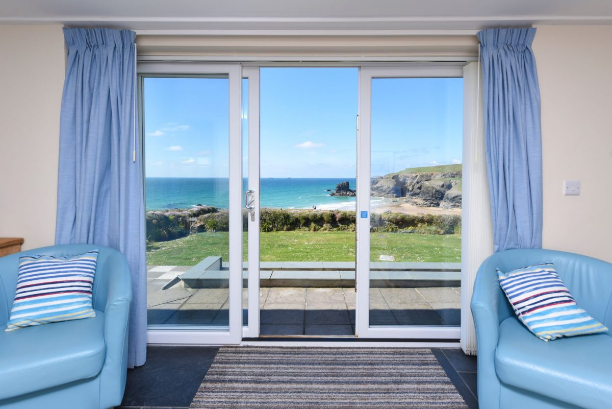 Gull Cottage - luxury holiday home at Porthcothan Bay