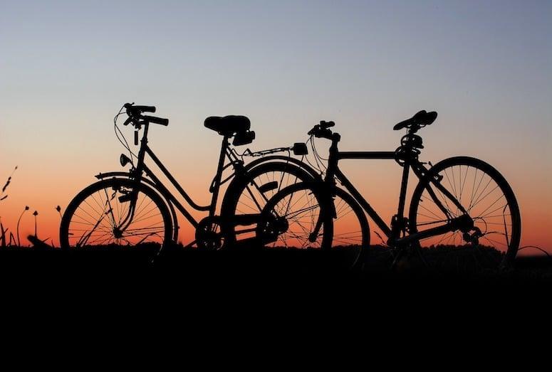 bikes Goss Moor Trail