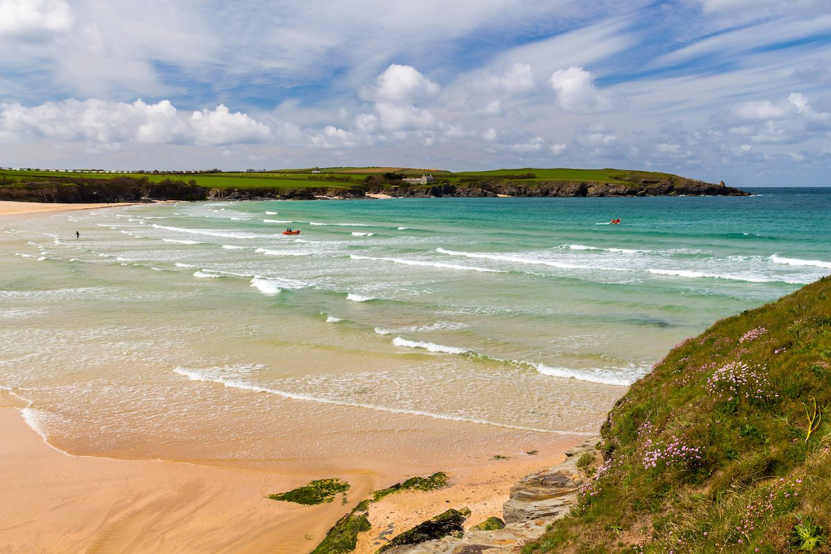 Harlyn Bay Beach North Cornwall