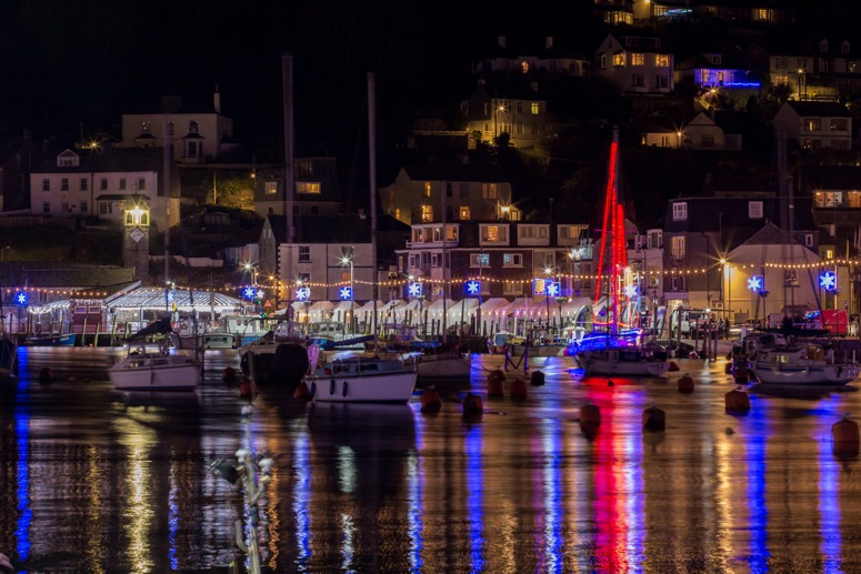 Looe Christmas Lights