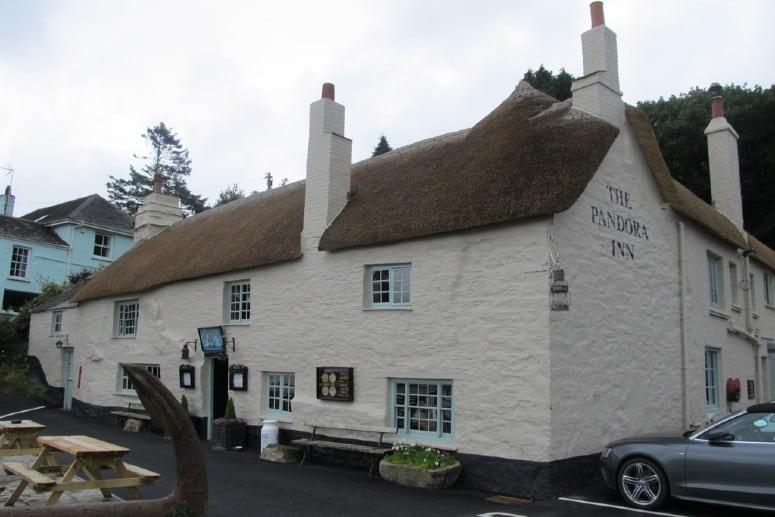 Pandora Inn - old pub in Cornwall