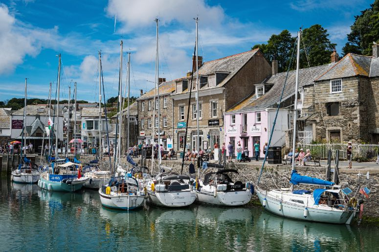 Padstow Harbour in Cornwall web