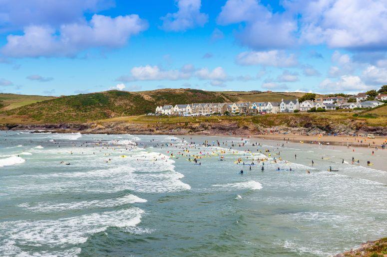 Polzeath Beach in Cornwall web