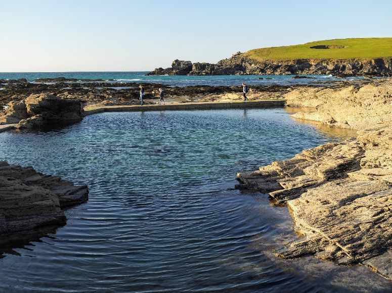 Trevone sea pool