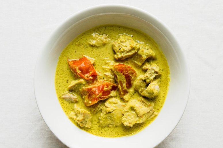 Curry dish for delivery