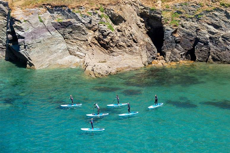 Family SUP tour in Cornwall