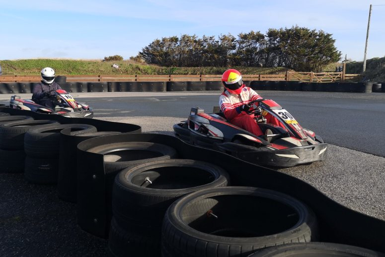 Go Karting activity in Cornwall