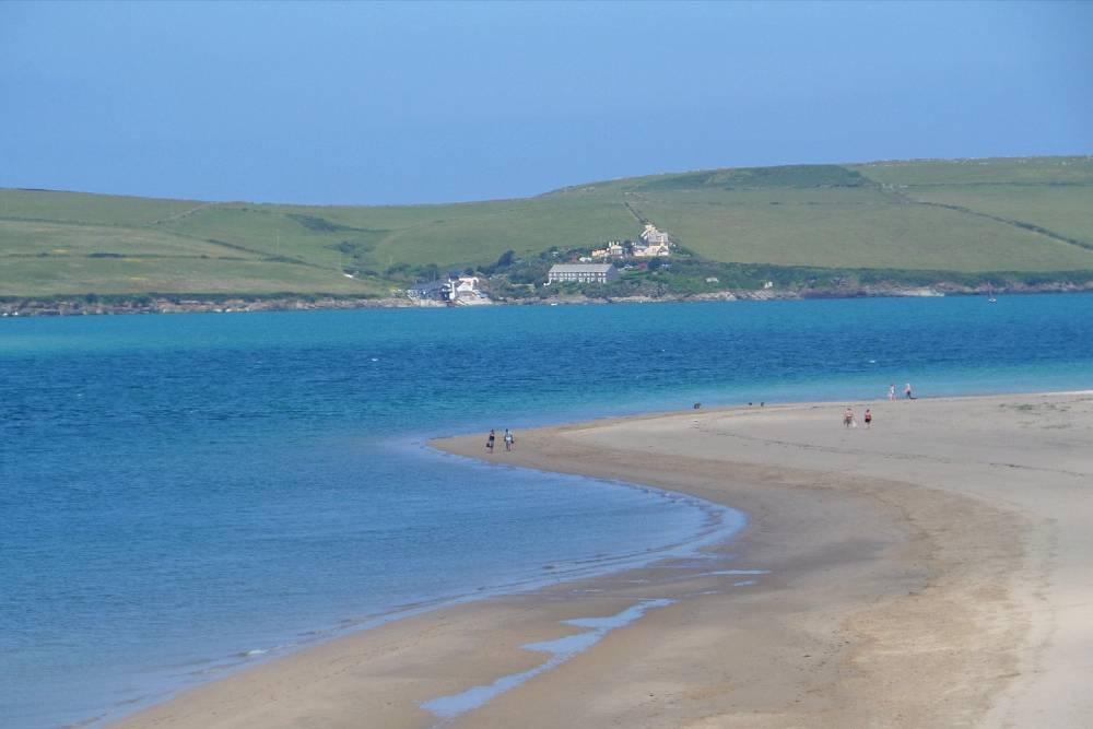 Rock Beach and the Camel Estuary